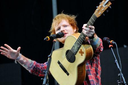 cantante britanico Ed Sheeran