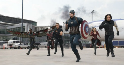 pelicula universo marvel Civil War