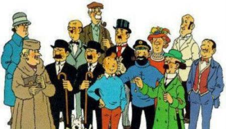 personajes tintin