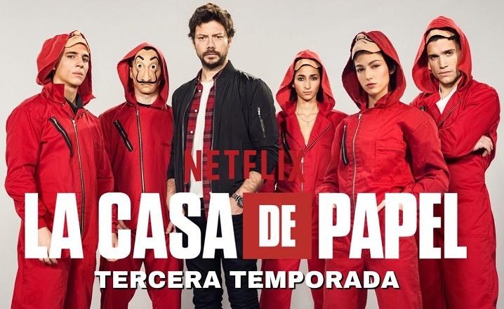 La casa de papel temporada 3