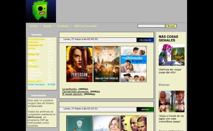 las mejores paginas torrent 2019 en espanol