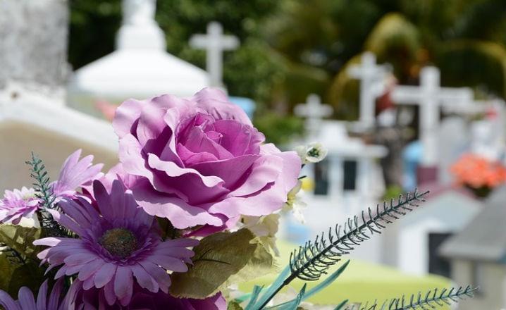 Flores adecuadas para un entierro