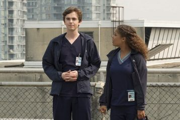 The Good Doctor Shaun y Claire Browne