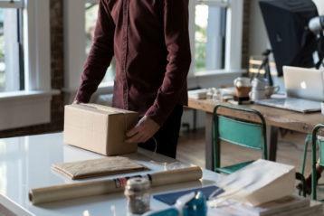 Como hacer una caja de carton para packaging