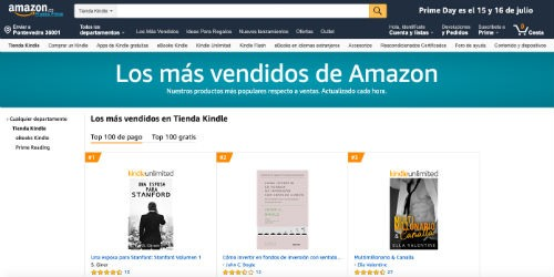 Tienda Kindle de Amazon
