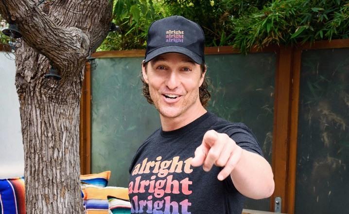 Matthew McConaughey profesor