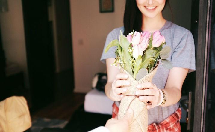 Regalar las flores perfectas