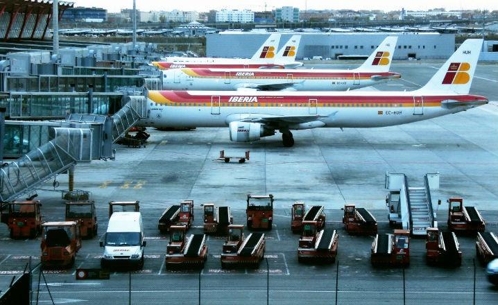 Encontrar parking en el aeropuerto de Madrid