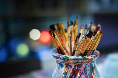 Pintor de estilo hiperrealista