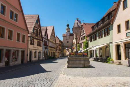 Rothenburg ob der Tauber (Baviera)
