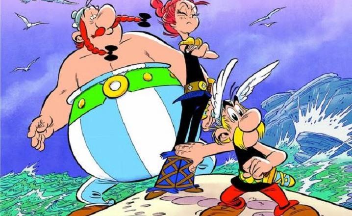 Asterix la hija de Vercingetorix