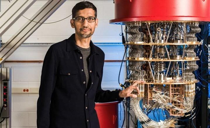 Computadora cuantica Google