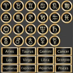Signos del Horóscopo Negro