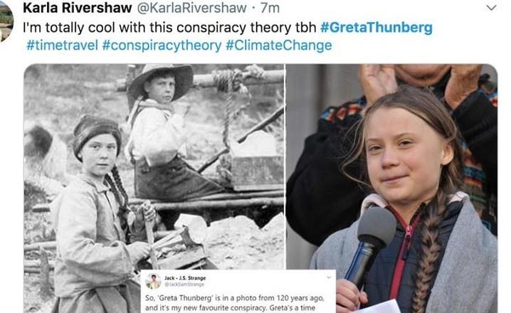 greta thunberg viaje en el tiempo