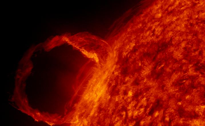 Fusion nuclear del sol