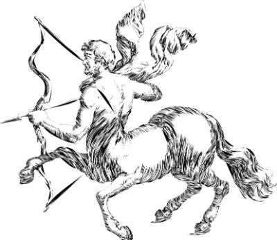 Hombres y mujeres del signo de la flecha