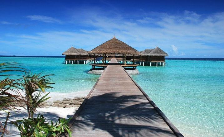 Visitar las islas Maldivas