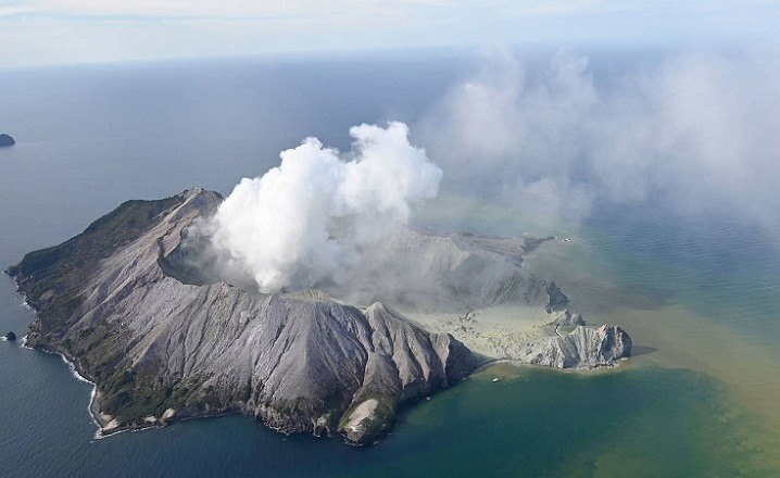 Volcan Nueva Zelanda