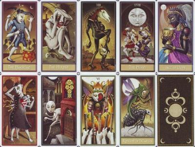 cartas lunares del tarot
