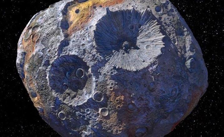 Asteroide lleno de oro