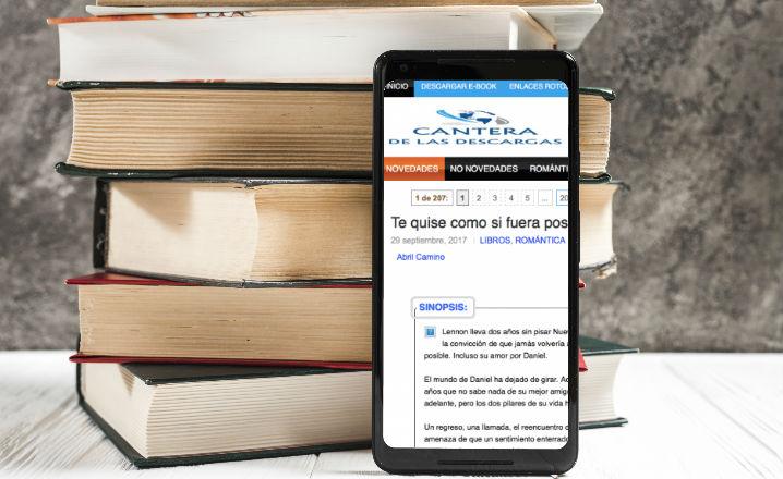 Mejores alternativas a Cantera de las Descargas para leer libros