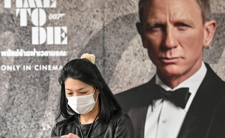 James Bond Cornonavirus