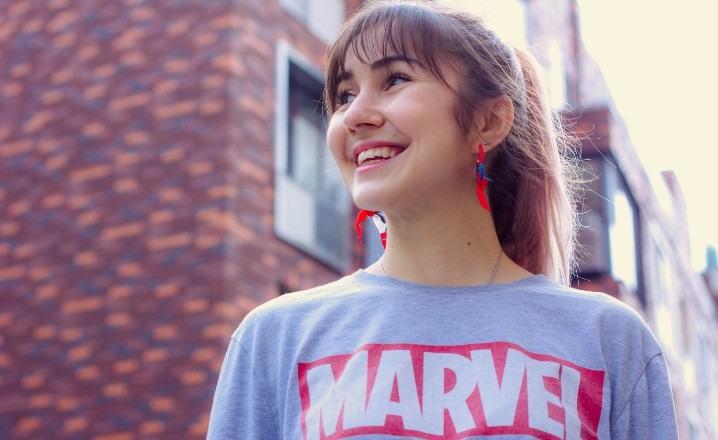Camisetas inspiradas por comics