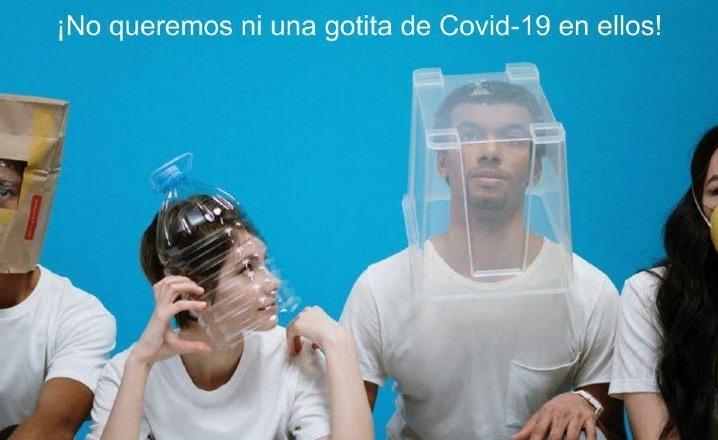 Protegerse los ojos contra el coronavirus
