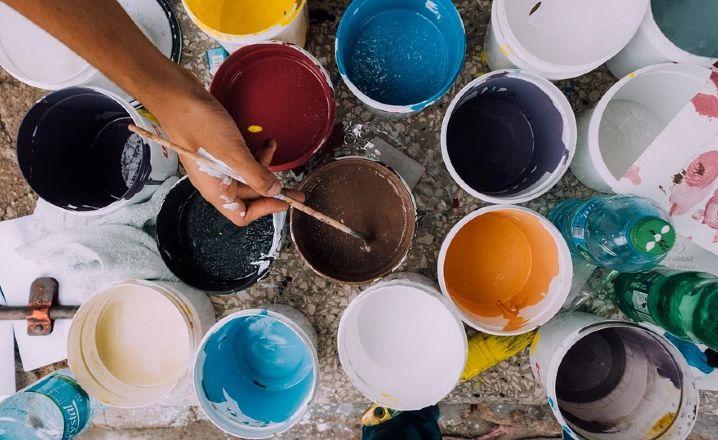 Pintura para la fachada