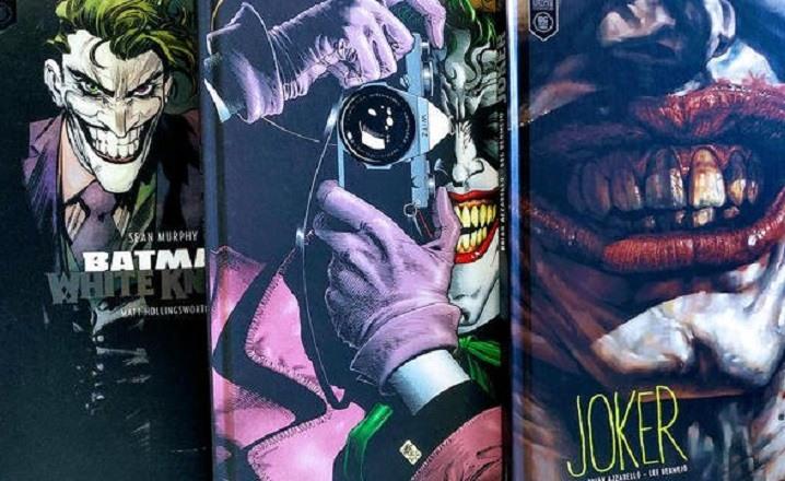 Tres cómics de lectura obligada para saberlo todo sobre el Joker