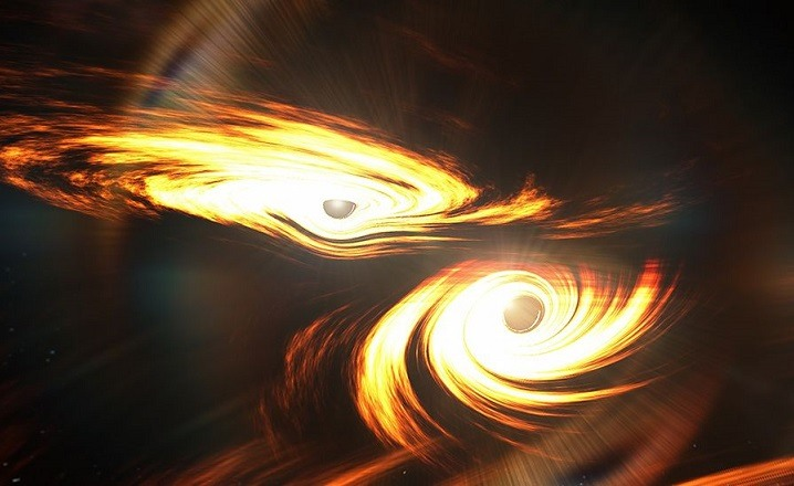 Dos agujeros negros
