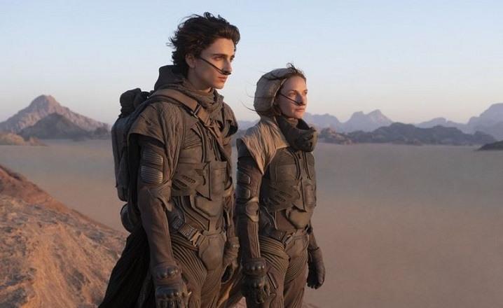 Timothee Chalamet y Rebecca Ferguson aparecen en Dune
