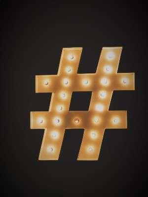 Estrategia de hashtags